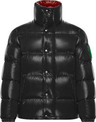 2 Moncler 1952 Dark Grey Dervaux Puffer Jacket 0921a5310068950742