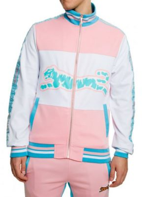 2 Chainz Cotton Candy Colored Track Jacket