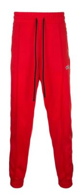 21 Savage Red Side Stripe Track Pants
