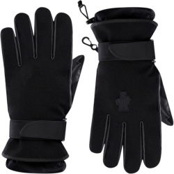 3 Moncler Grenoble Black Ski Gloves
