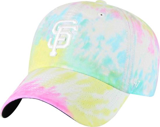 47 Brand San Francisco Giants Tie Dye Clean Up Hat