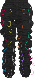 99 Pecent Is Black And Multicolor Gobchang Pants