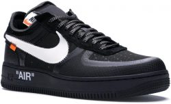 Air Force 1 Low Off White Black Sneakers