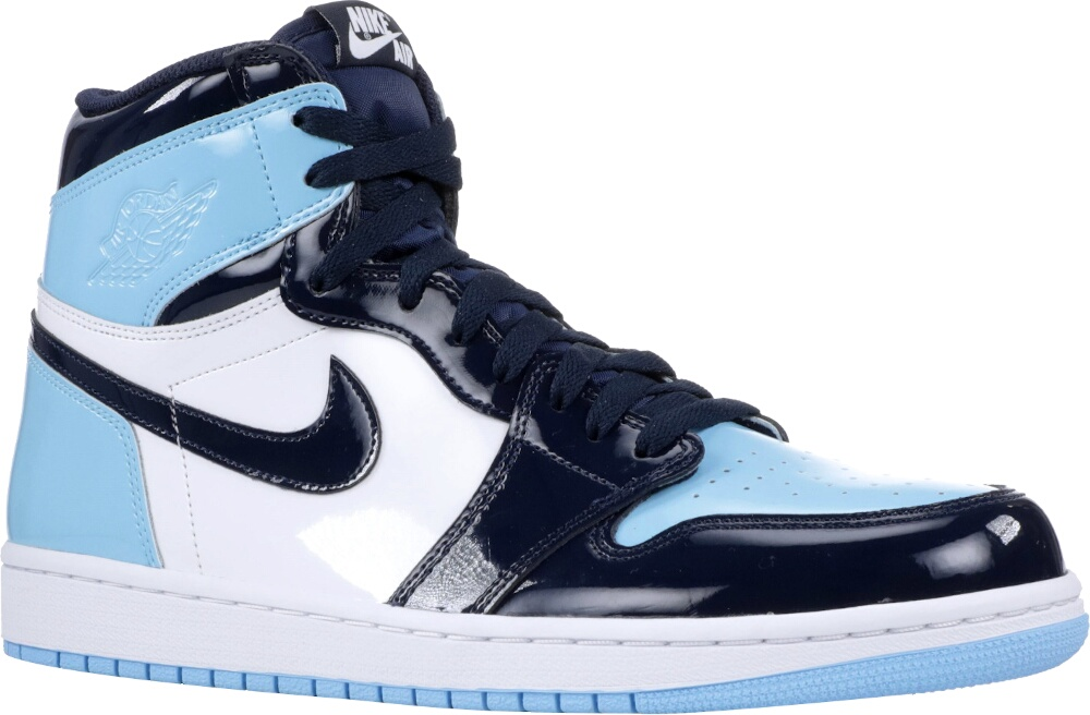 Air Jordan 1 Retro High Og 'blue Chill' Sneakers