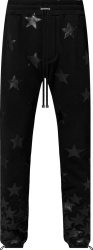 Amiri X Chemist Black Star Patch Sweatpants