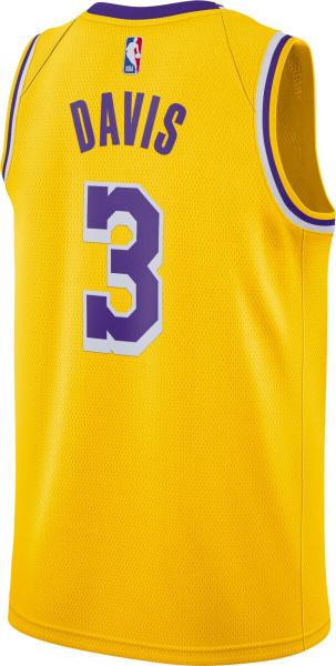 Anthony Davis Los Angeles Lakers Nike Swingman Jersey Gold