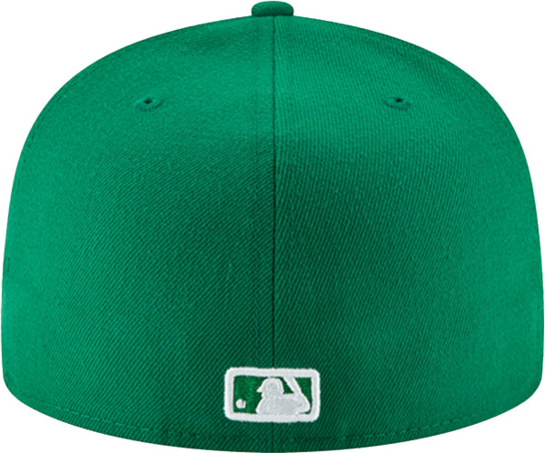 Atlanta Braves New Era Green Fashion Color Basic 59fifty Fitted Hat