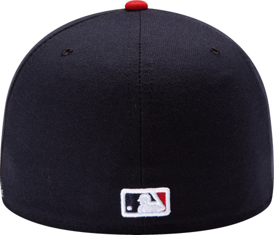 Atlanta Braves New Era Home Authentic Collection On Field 59fifty Fitted Hat