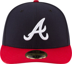 Atlanta Braves New Era Home Authentic Collection On Field Low Profile 59fifty Fitted Hat