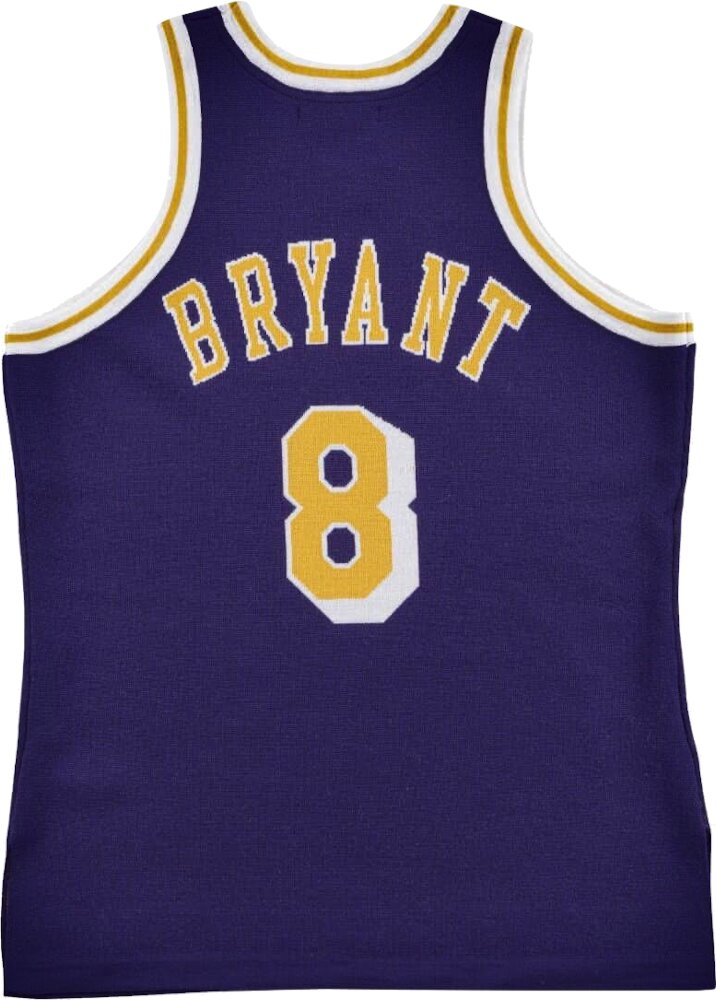 Clot X M&n Knit Jersey Los Angeles Lakers 1996 97 Kobe Bryant