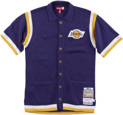 Clot X M&n Shooting Shirt Los Angeles Lakers