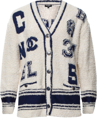 Chanel Shag Cardigan