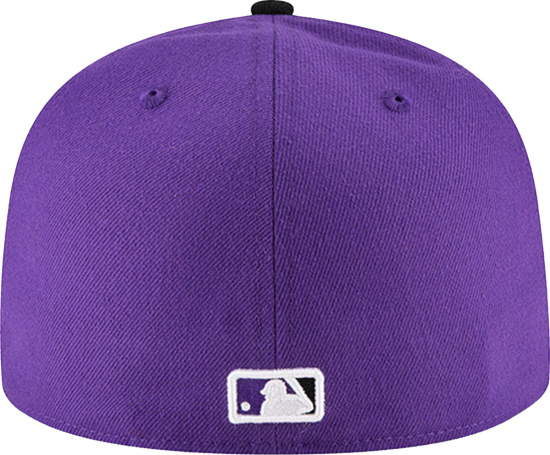Colorado Rockies New Era Authentic Collection Onfield Purple 59fifty Structured Hat