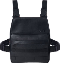Dr14 Black Leather Chest Rig