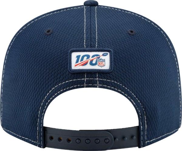 Dallas Cowboys New Era Mens Navy On Field Sideline Road 9fifty Cap