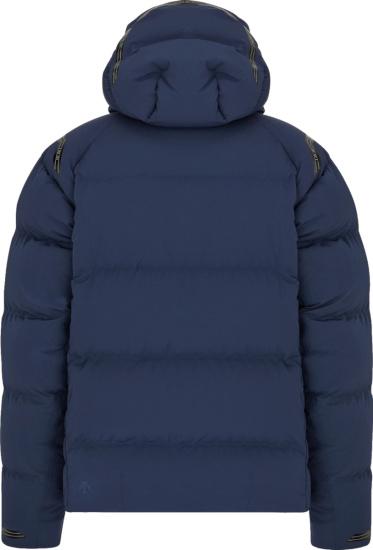 Dior X Descente Navy Puffer Jacket