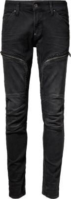 G Star Waxed Black 'air Defense' Jeans