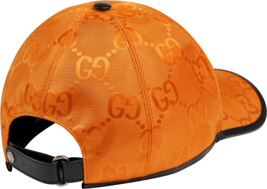 Gucci Orange Off The Grid Hat