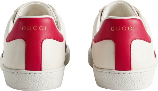 Gucci X Freya Hartas White Ace Sneakers (1)