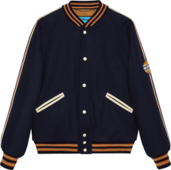 Gucci X Disney Navy Donald Duck Bomber Jacket 639274 Zaf9k 4560