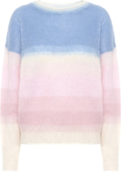 Isabel Marant Pastel Stripe Mohair Sweater