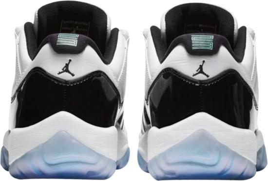 Jordan 11 Retro Low Iridescent Sneakers