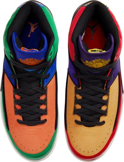 Jordan 2 Retro Multi Color Sneakers