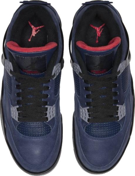 Jordan 4 Retro Winter Loyal Blue Sneakers