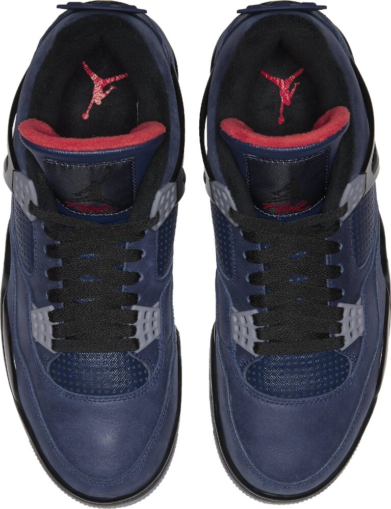 Jordan 4 Retro Winter Loyal Blue Sneakers