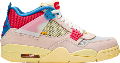 Jordan 4 Retro X Union 'guava Ice'