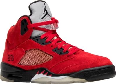 Jordan 5 Retro Dmp Raging Bull Red Suede