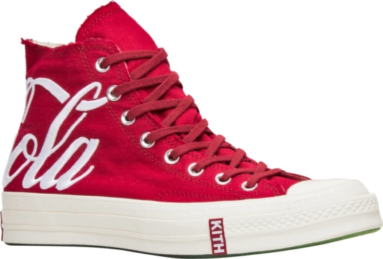 Kith X Converse Red Coca Cola High Tops
