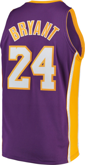 Kobe Bryant Los Angeles Lakers Mitchell & Ness 2008 09 Hardwood Classics Authentic Jersey