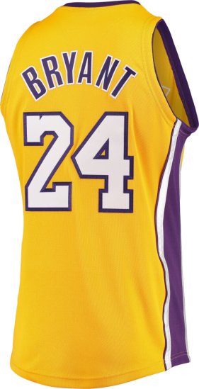 Kobe Bryant Los Angeles Lakers Mitchell & Ness Hardwood Classics 2008 09 Authentic Jersey