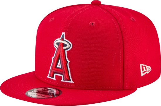 Los Angeles Angels New Era Team Color 9fifty Snapback Hat