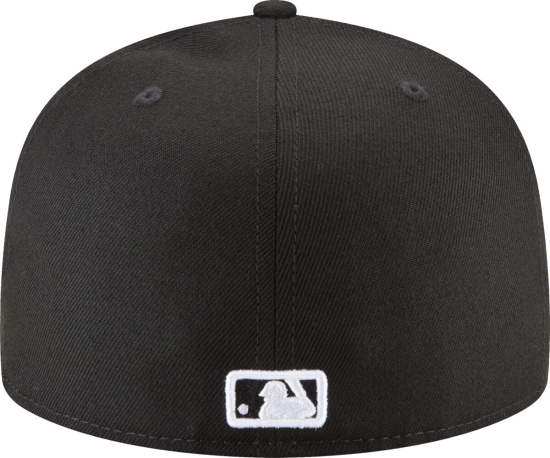 Los Angeles Dodgers New Era 59fifty Fitted Hat Black