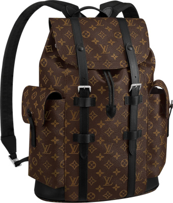 Louis Vuitton Brown Monogram Christopher Backpack