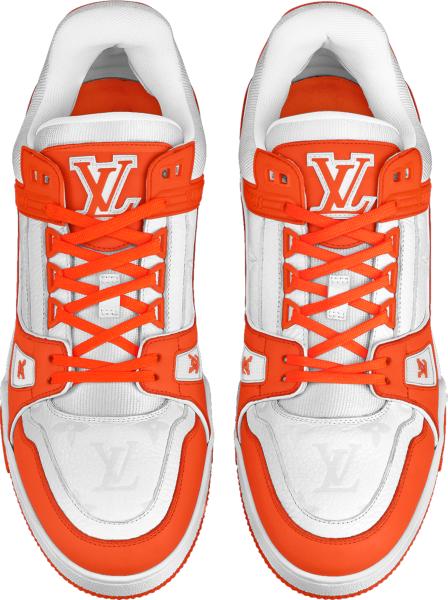 Louis Vuitton Lv Trainer Orange