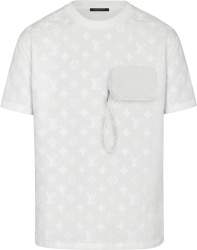 Louis Vuitton White Hook And Loop Monogram T Shirt 1a7qdm