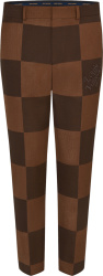 Louis Vuitton X Nigo Brown Damier Pants 1a7xu1