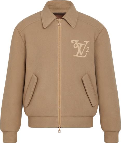 Louis Vuitton X Nigo Reversible Brown Damier Bomber Jacket 1a7x5v