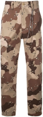 Mastermind World Camo Cargo Pants With Skull Print