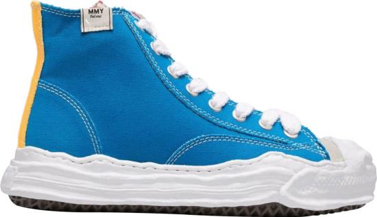 Maison Mihara Yasuhiro Multicolor High Top Sneakers