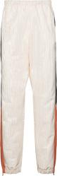 Marine Serre White, Black, & Orange Moire Trackpants