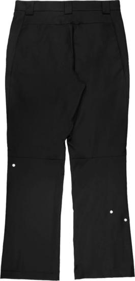 Mastermind Japan X C2h4 Black Chain Detail Pants