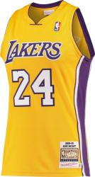 2008-09 L.A. Lakers #24 Kobe Bryant Yellow Jersey