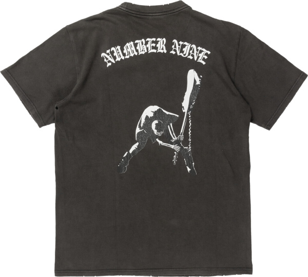 Number Nine The Clash Double Skull Tee