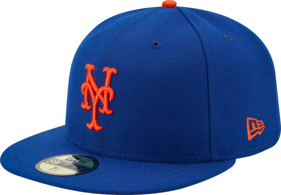 New York Mets New Era Authentic Collection On Field 59fifty Fitted Hat Royal Blue