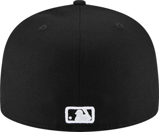 New York Yankees New Era 59fifty Fitted Hat Black