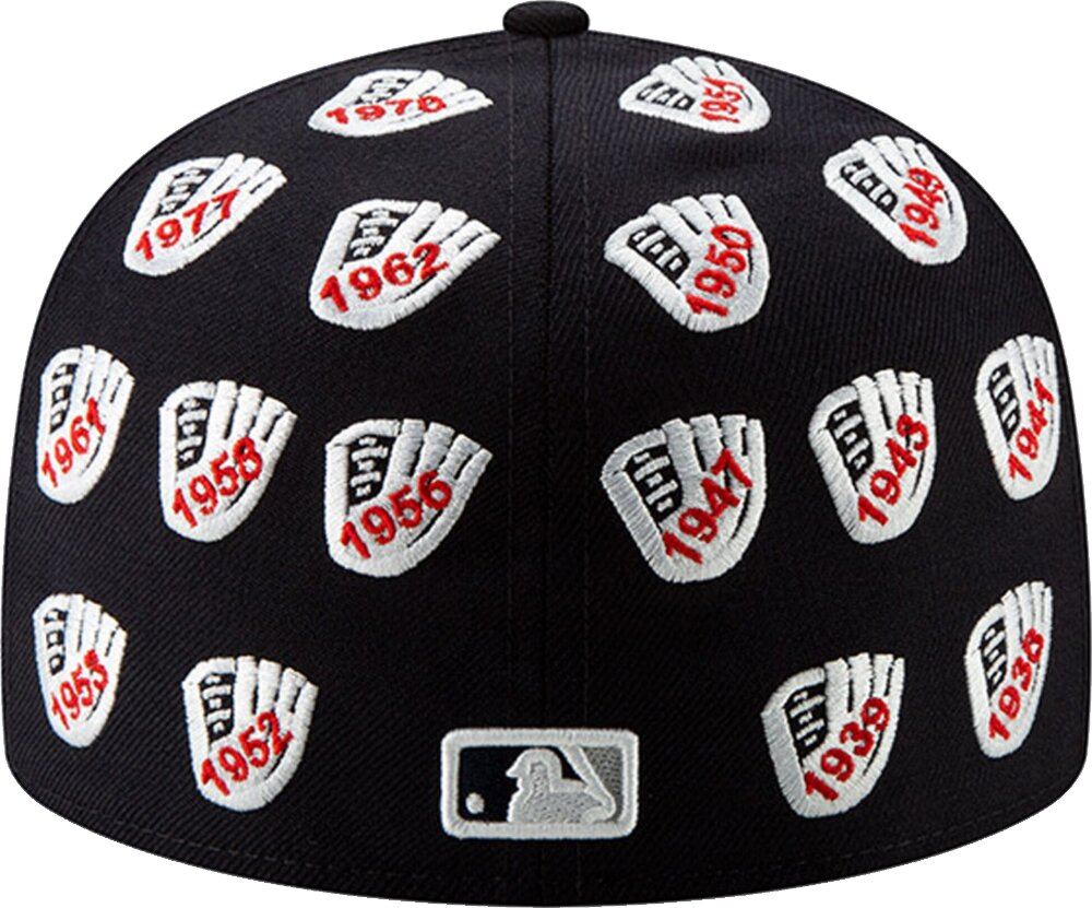 New York Yankees New Era Spike Lee Champion Collection Glove Logo 59fifty Fitted Hat